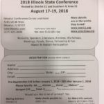 2018 Illinois State Conference