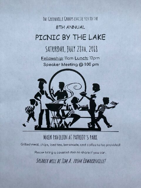 Picnic By The Lake @ Patriot's Park Greenville - Main Pavilion | Greenville | Illinois | United States